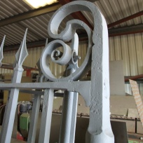 Shon Eilian Ironworks - custom railings