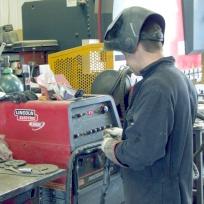 Shon Eilian Ironworks - at work