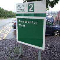 Shon Eilian Ironworks - signage